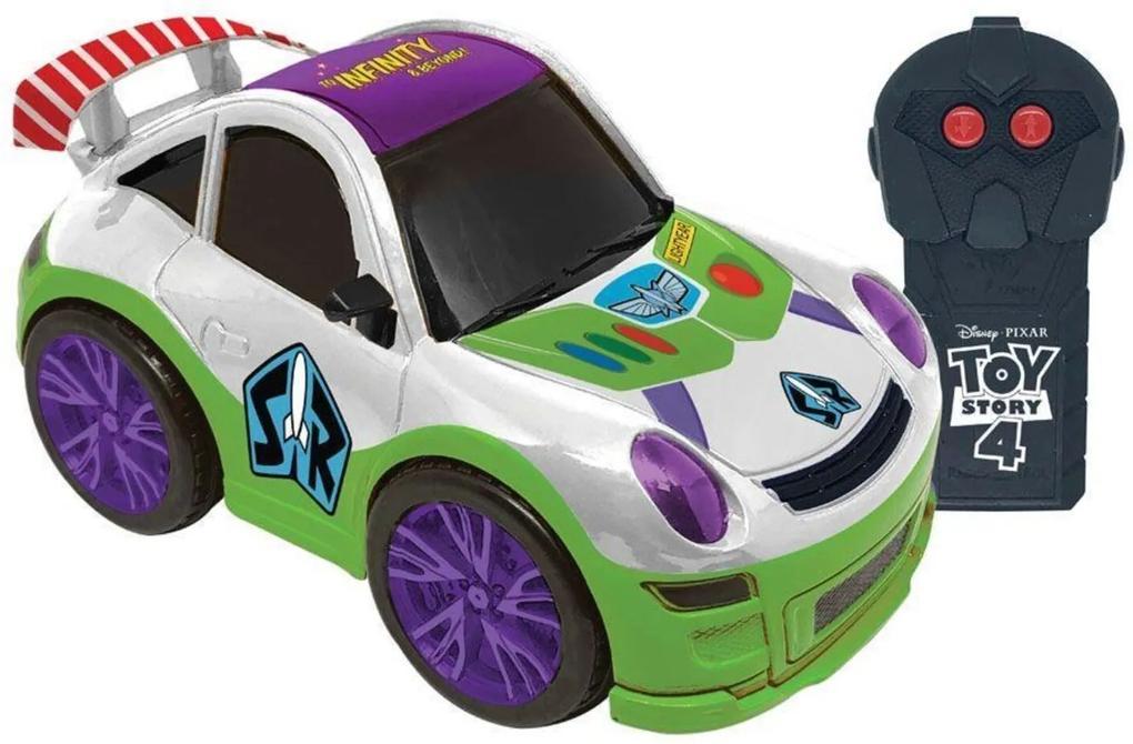 Carro de Controle Remoto Team Racer Buzz Lightyear - Candide