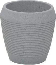 Vaso Egípcio Tramontina em Polietileno Mármore 45 cm