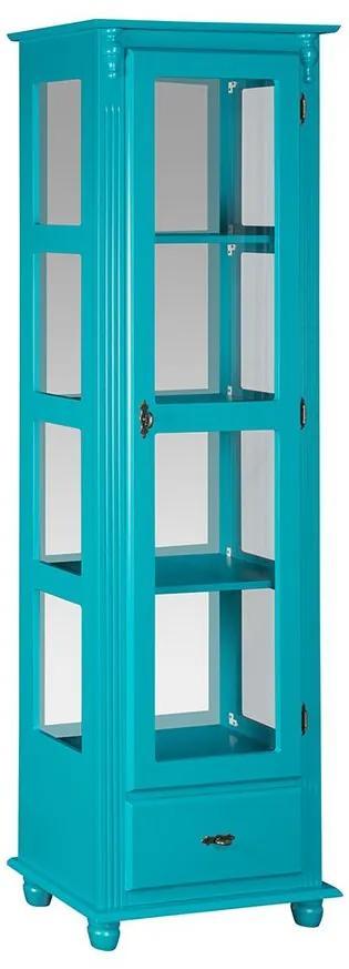 Cristaleira com Espelho e Vidro Lateral- Wood Prime MY 907427