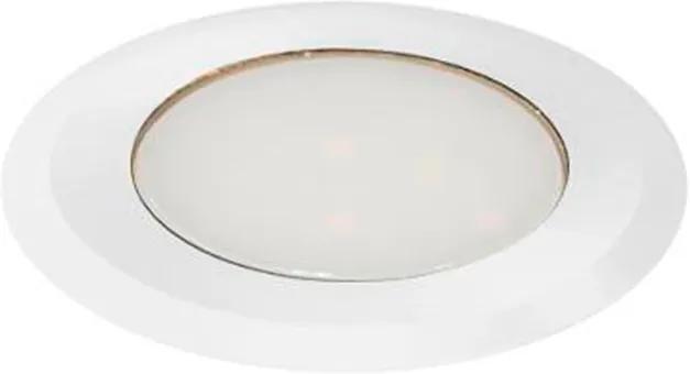 Balizador Alumínio Branco Ip66 Coin