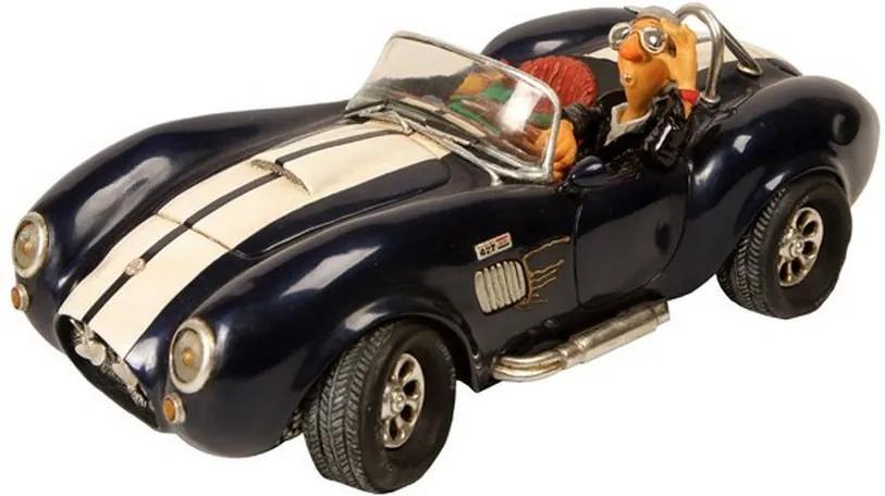 Escultura Decorativa de Resina Shelby Cobra 427