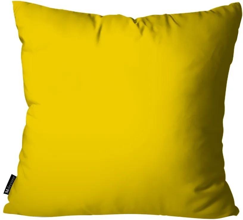 Capa para Almofada Lisa Amarelo55x55cm