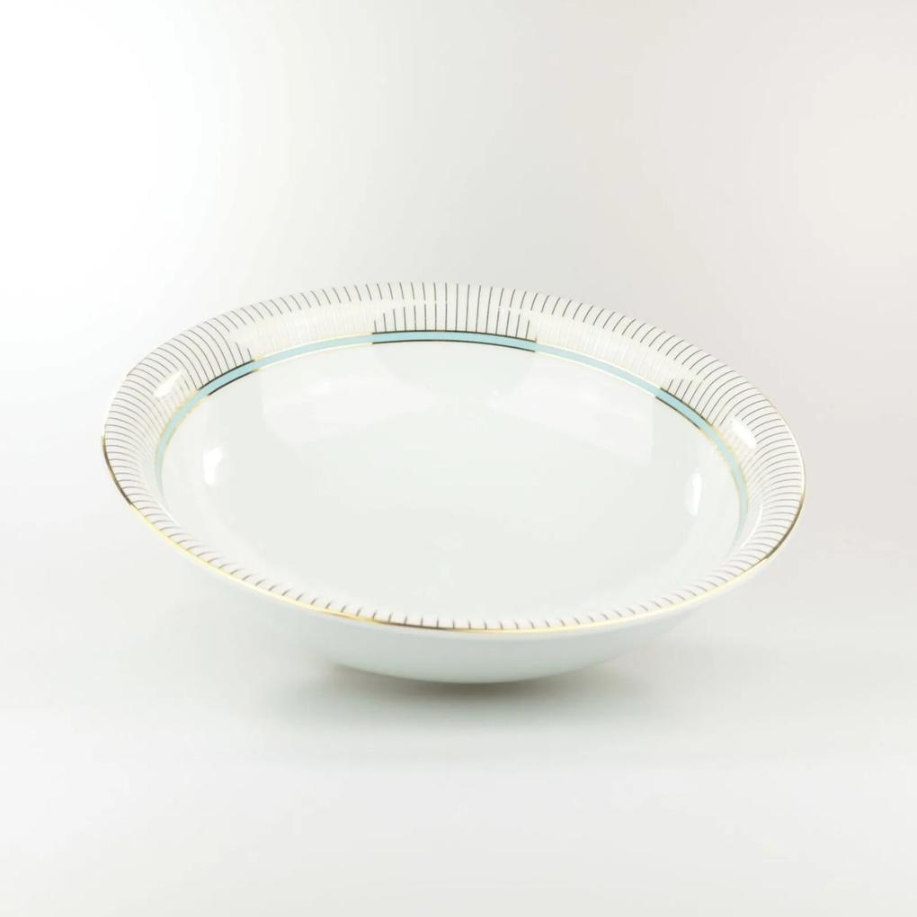 Saladeira 24 cm Porcelana Schmidt - Dec. Audrey