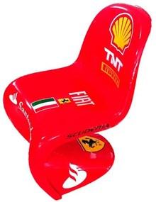 Cadeira Panton Scuderia Ferrari Italian