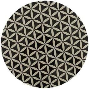 Tábua de Vidro Doce Cozinha para Corte Redonda 25cm - Estamp-1