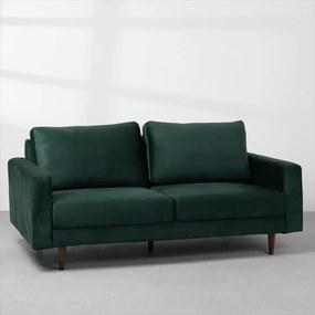 Sofá Noah Veludo Verde Escuro