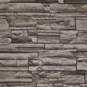 Papel De Parede Texturizado Rj Pedras Irregulares 9993