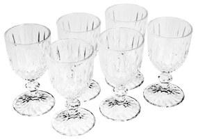 Jogo Taças Vinho 6 Peças Vidro Imperial 245ml 26868 Bon Gourmet