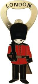 Abridor de Garrafas e Imã de Geladeira  Soldado de Londres