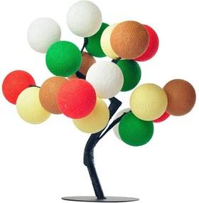 Árvore de Luz Natal Ho Ho Ho com 20 Bolinhas - Bivolt