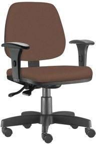 Cadeira Giratória Executiva Lym Decor Job Corino Camel