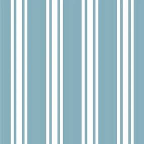 Papel De Parede Adesivo Listrado Azul Com Branco (0,58m x 2,50m)