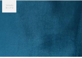 Poltrona Decorativa 2 Lugares Joy B170 Azul - Domi