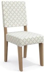 Kit 2 Cadeiras CAD106 para Sala de Jantar Nogal/Bege Plátano - Kappesberg