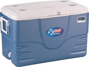 Caixa Térmica com Termômetro 52 QT Azul 49 Litros - Coleman