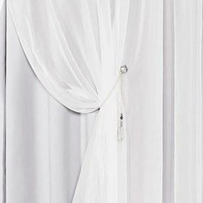 Cortina DOURADOS ENXOVAIS Idealle Branco 4,00M X 2,70M