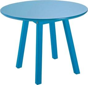 Mesa Lateral Oval Baixa Azul - Tramontina