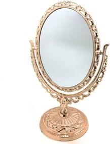 Espelho De Mesa Decorando Com Classe Princess Bronze Única