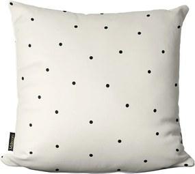Almofada de Páscoa Bolinhas Preto Branco 45x4545x45cm