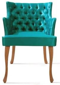 Poltrona Rocaille Capitone Verde Pes Tauari - 50180 Sun House