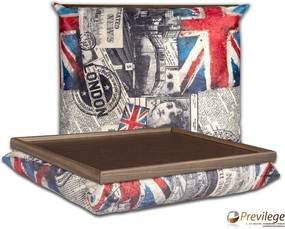 Almofada Bandeja - Estampa Inglaterra