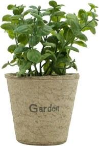 Vaso com Planta Artificial Jade Sucullent Urban Home