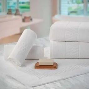 Jogo de Toalhas para Hotel Teka Madri Profiline Brancas 10 Peças 440 g/m²