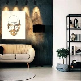 Conjunto Completo P/ Decoração de Sala c/ Abajur de Chão , Trilho Eletrificado e Quadro Vazado em Metal | Look Aviv 1