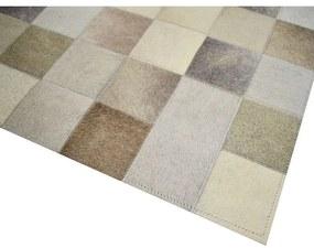 Tapete Squares 1,20x1,50 Tons de Bege - RE 45146