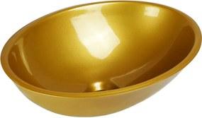 Cuba de Apoio Oval 37 cm (Dourada Perolizada)