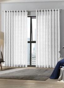 Cortina para Porta Duplex Branca 300x230 cm