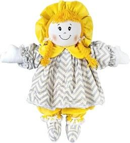 Boneca de Pano Vestido Chevron