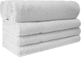 Segunda Linha - Toalha de Rosto Para Salão de Beleza Soft - 40x60cm - Branco