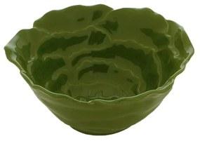 Jogo 6 Bowls Porcelana Rosy Verde 14x6cm 27760 Wolff
