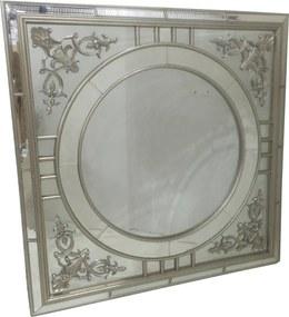 Espelho Clássico Bisotê - 100x5x100cm