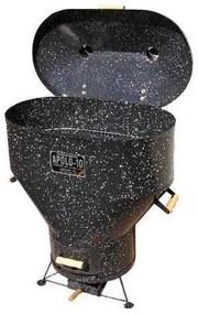 Churrasqueira a Bafo Gas ou Carvão Apolo 10 Esmaltada - Weber
