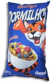 Pufe Good Pufes Pufe Almofadão Cereal Matinal Azul