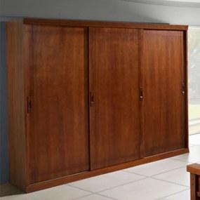 Roupeiro Style Flex 3 Portas De Correr Domus Móveis