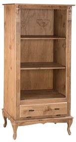Estante Aberta 2 Prat. Com Gaveta Basculante - Wood Prime MY 907381