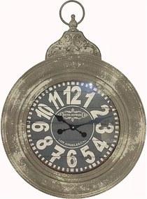 Relógio de Parede de Ferro Redondo