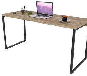 Escrivaninha Industrial Kuadra ME150 Carvalho - Compace