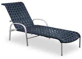 Espreguiçadeira Nest Área Externa Fibra Sintética Estrutura Alumínio Eco Friendly Design Scaburi