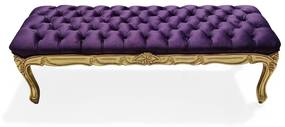 Puff Recamier Luís XV Design de Luxo Peça Artesanal
