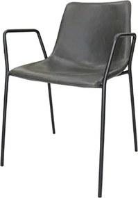 Cadeira Flora c/ Bracos Cinza 79 cm (ALT) - 47413 Sun House