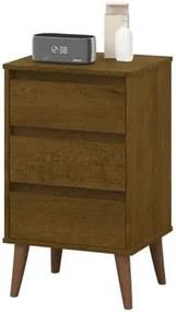 Mesa De Cabeceira Retro Wood Malbec – EJ Móveis