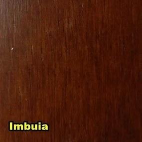 Roupeiro - 3 Portas - 4 Gavetas - Woods - Cor Imbuia