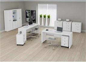 Mesa para Escritório ME-4109 Branca Tecno Mobili