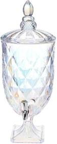 Suqueira de Cristal com Pé Rainbow Lyor de 5L - Rojemac