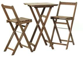 Kit Bistrô Alto Dobrável - Wood Prime MR 248101