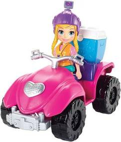 Polly Pocket - Quadriciclo Fabuloso - Mattel